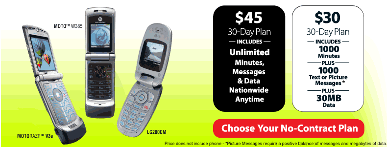 Unlimited Data Prepaid Cell Phone Plans