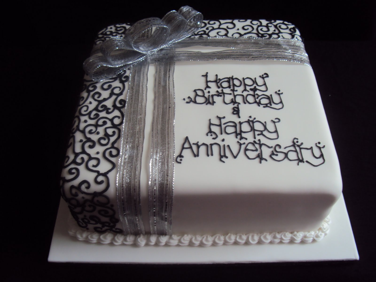 Mimi To You Sweet And Stylish Cakes Silver And Black