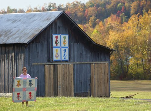 Barn Quilts And The American Quilt Trail Grandmother S
