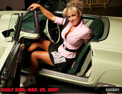 WWE Diva Cherry / Kara Drew