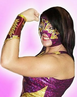 Dark Unicorn - Hailey Hatred - aaa wrestling - luchadoras