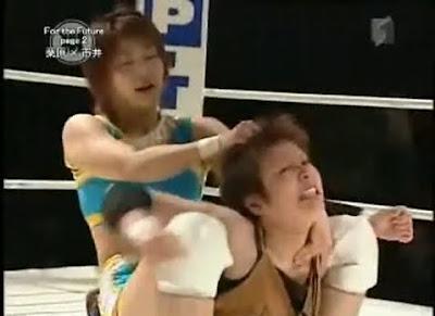 Ayumi Kurihara - Mai Ichii - japanese women wrestlers