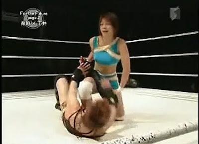 Ayumi Kurihara - Mai Ichii - japanese womens wrestling