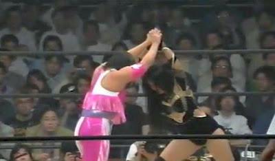 Manami Toyota - Kyoko Inoue - wrestling