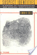 Cover of book shows large thumbprint