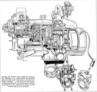 the velobanjogent: model le velocette twin ...an article ... le motor wiring diagram 1997 toyota camry le radio wiring diagram
