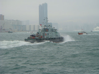 Vibrant Sea Line of Hong Kong:Cyclonic Waves @ South China Sea