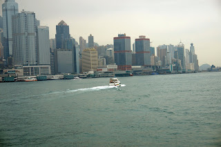 Vibrant Sea Line of Hong Kong:Shot from Kowloon @ South China Sea