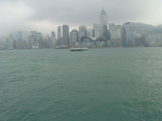 Vibrant Sea Line of Hong Kong:HK resting in South China Sea