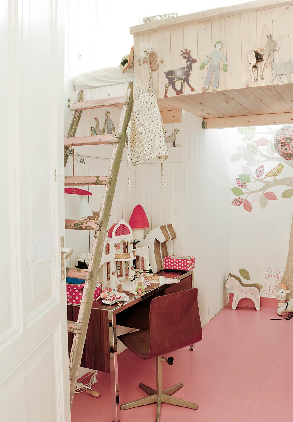 studio karin: loftsÄngar fÖr barnrum