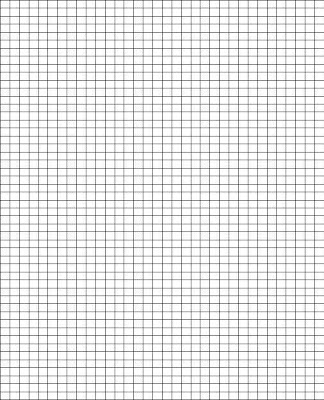 Pieceful Living TOOLS - standard graphing paper