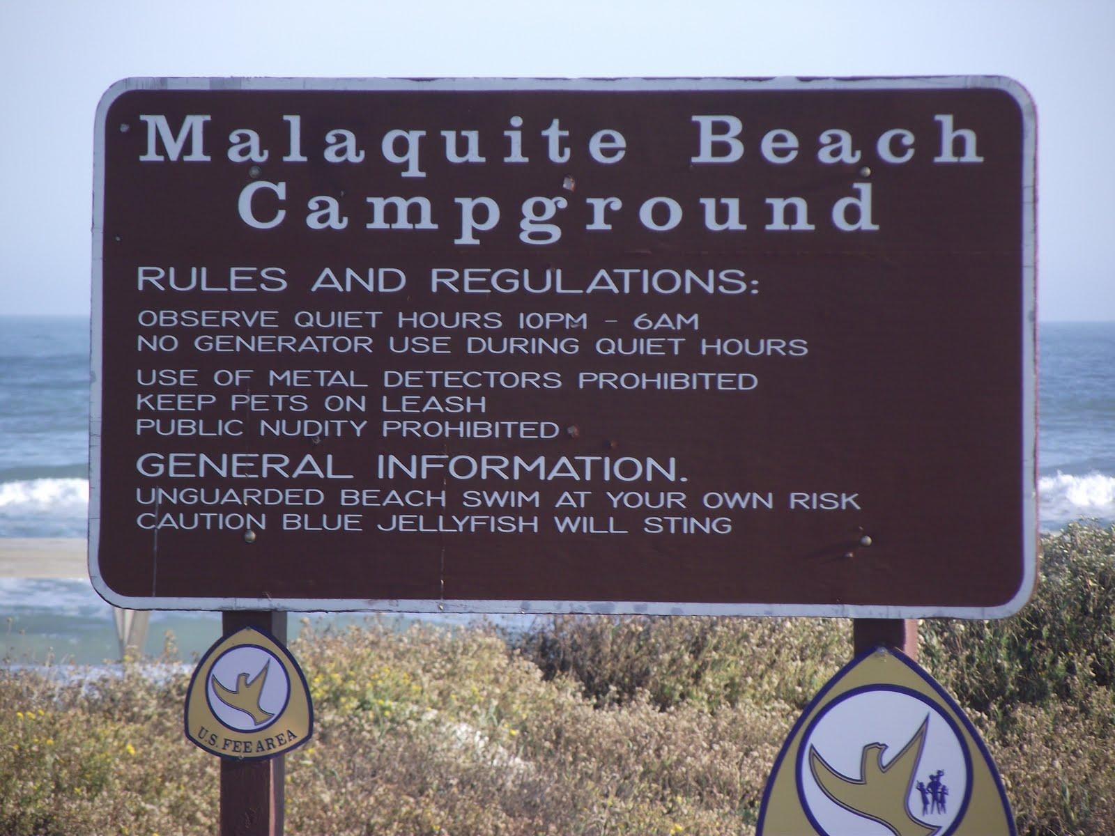 Al And Nita S Travels Boondocking On Padre Island National Seas