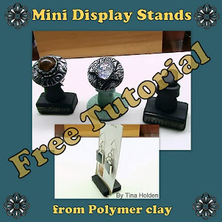 Tina's Free Tutorial - Making Mini Display Stands