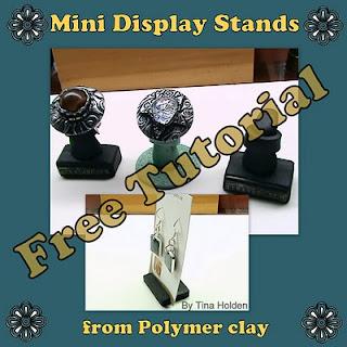 Tina's Free Tutorial - Making Mini Display Stands