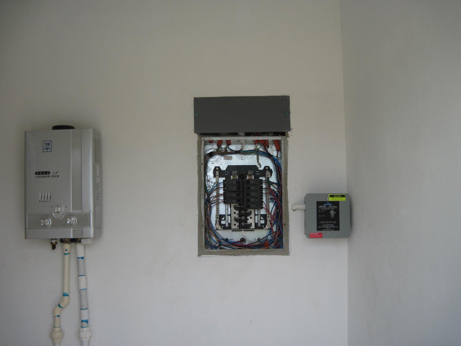Water Heater, Breaker Box Whole House Surge Suppressor