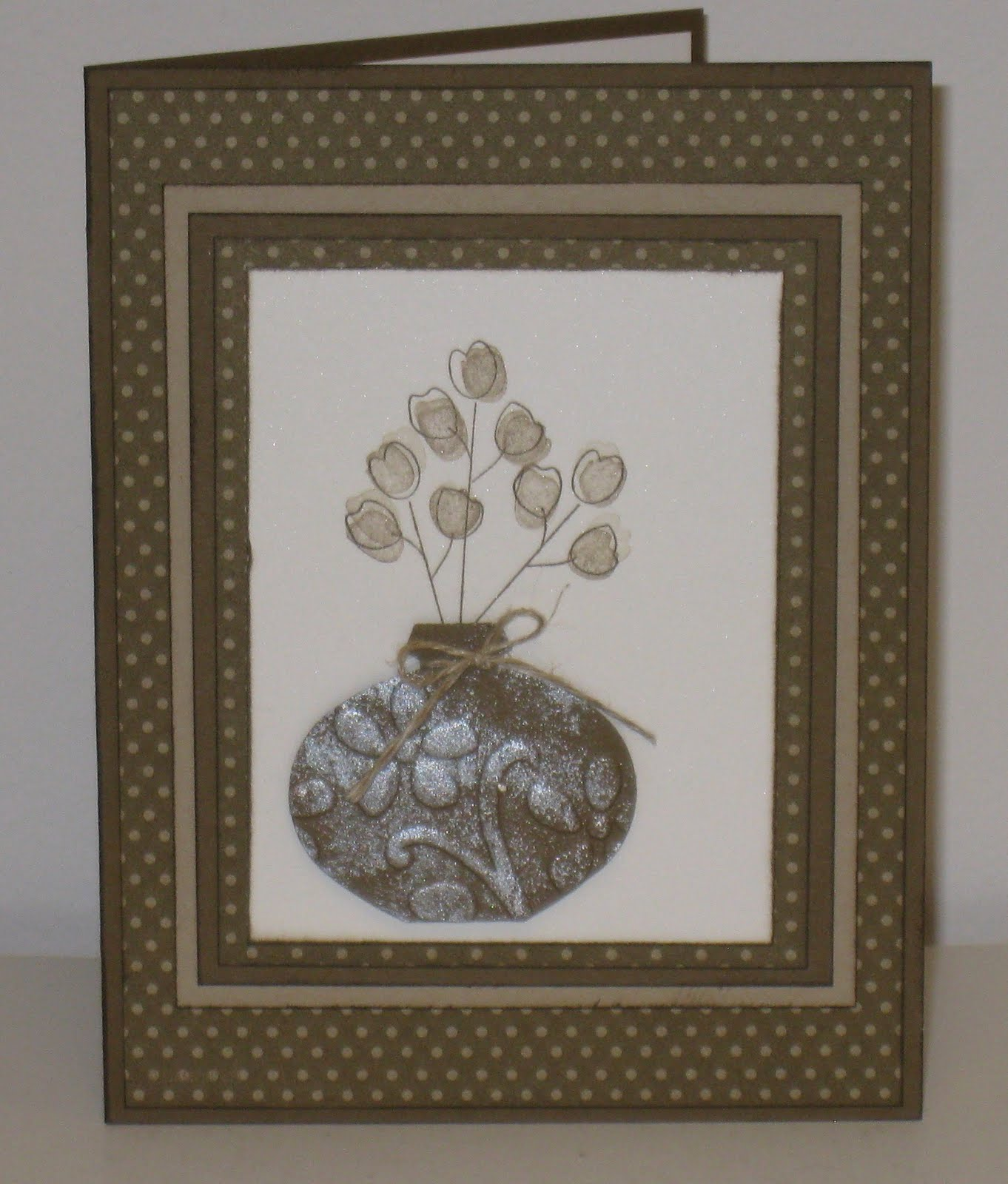Cathy's Craft Room: Elegant Swap Card