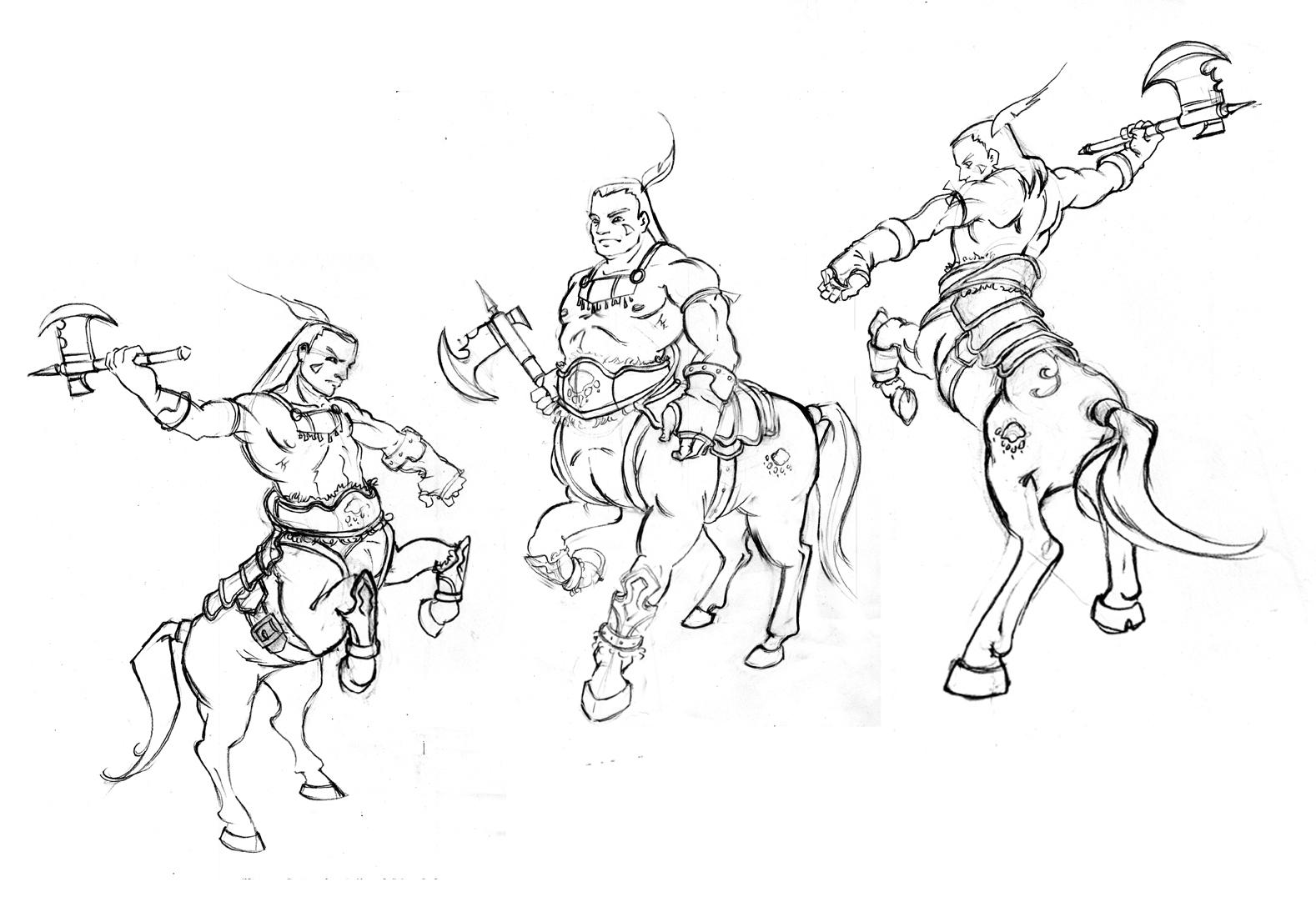 Tiffanny's Sketchbook: Mythological Characters