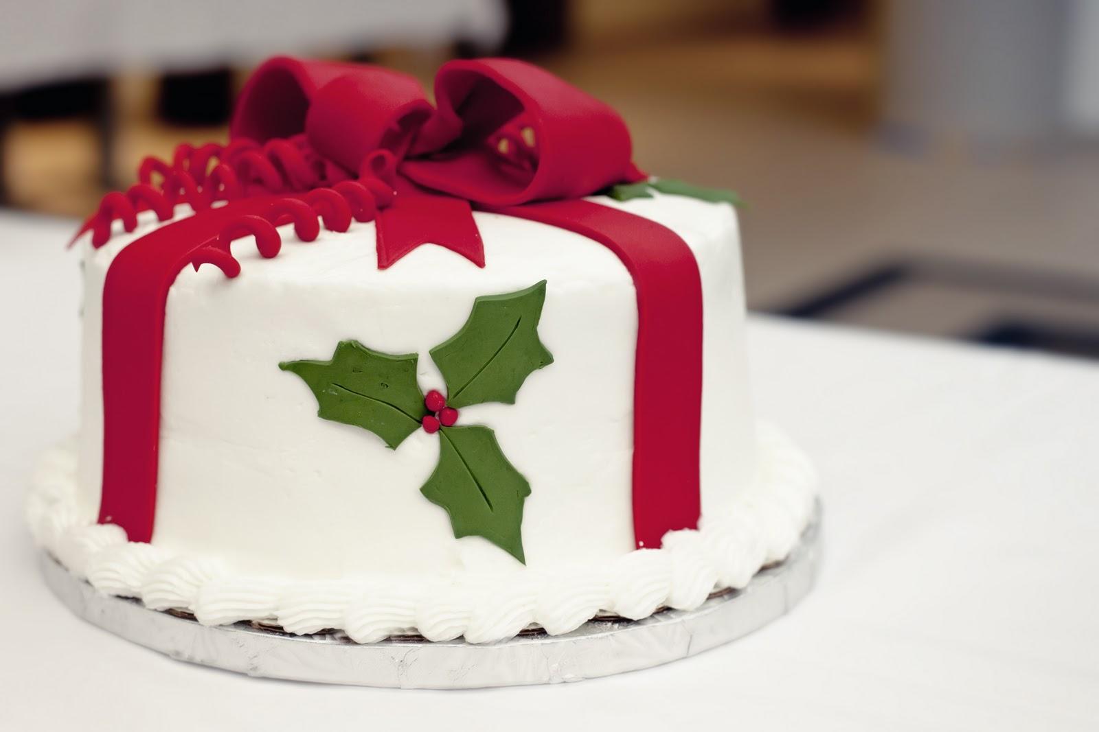 Patticakes Christmas Cake