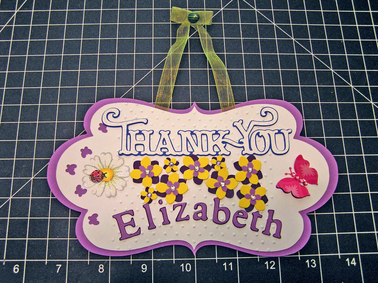 Handcrafted By Patty Banner S Thank You Tags Gift Bags