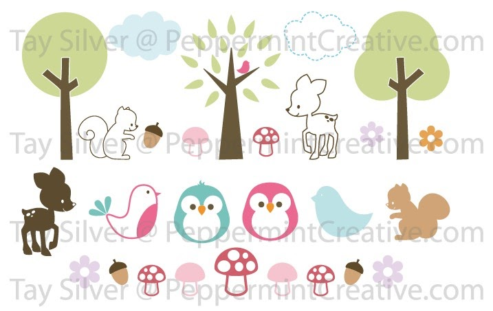 Tay S Days Woodlands Nursery Animals With Owls Birds