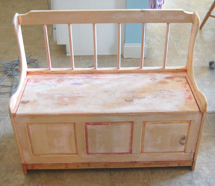 Woodwork Toy Box Bench Diy PDF Plans