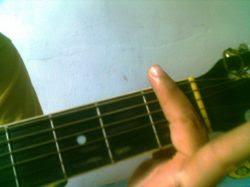 pestana com um dedo