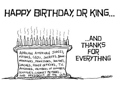 MacLeod Cartoons: Martin Luther King's Birthday
