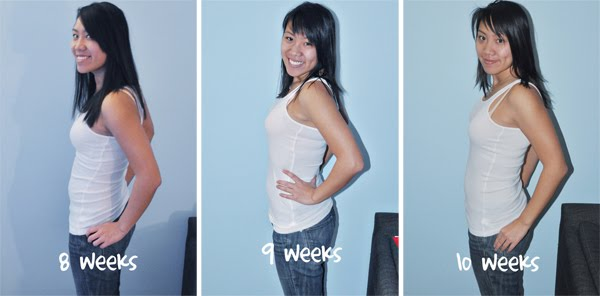 8 Bloated Pregnant Weeks And