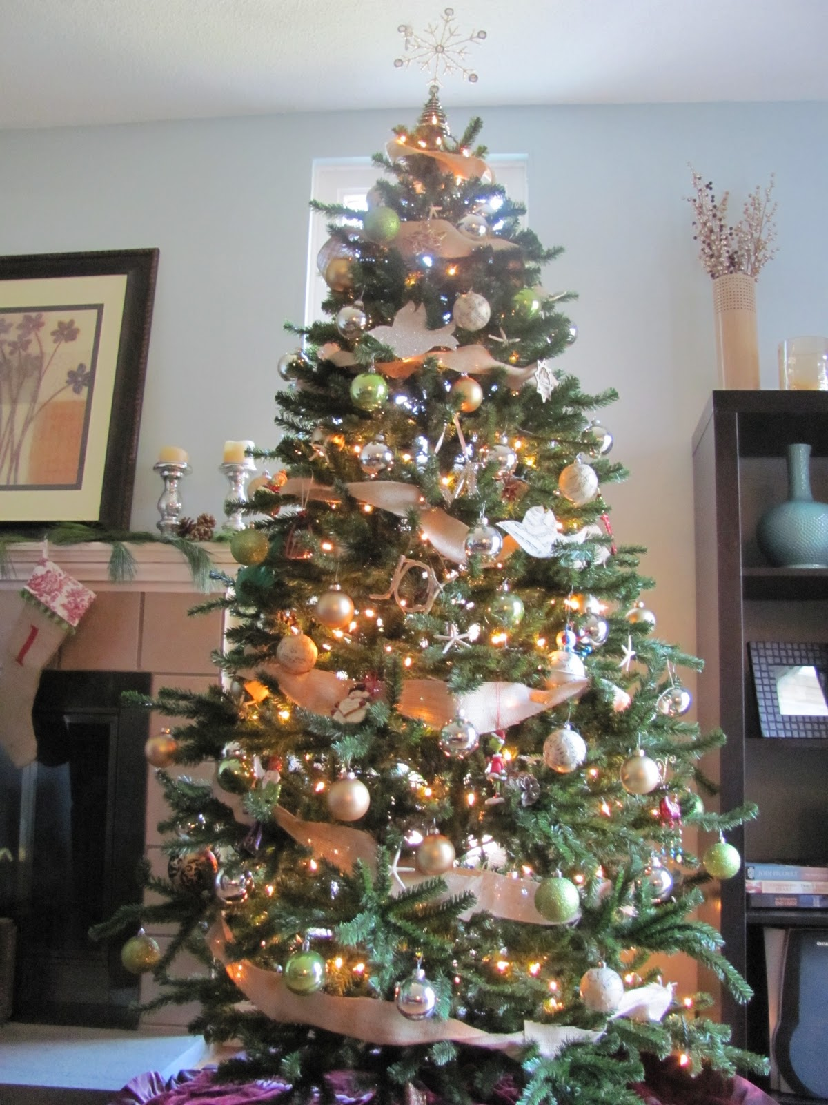 How To Get A Pottery Barn Inspired Christmas Tree Lauren Mcbride