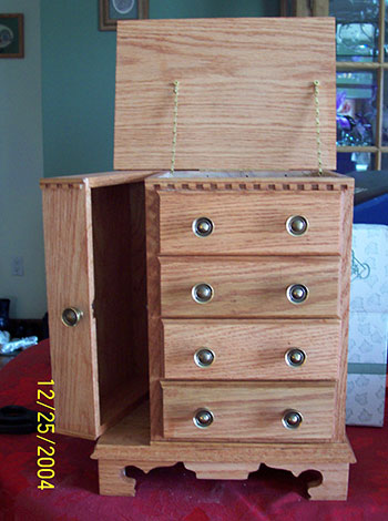 Unfinished Wooden Jewelry Box : unfinished, wooden, jewelry, Unfinished, Wooden, Jewelry, Boxes, Woodworking