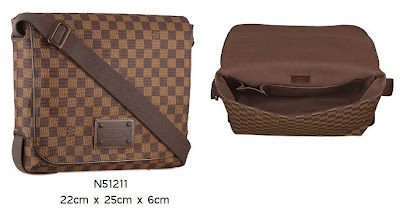 ef605bc5e3db5 Louis Vuitton Addicted  Louis Vuitton Damier Brooklyn is Launched!