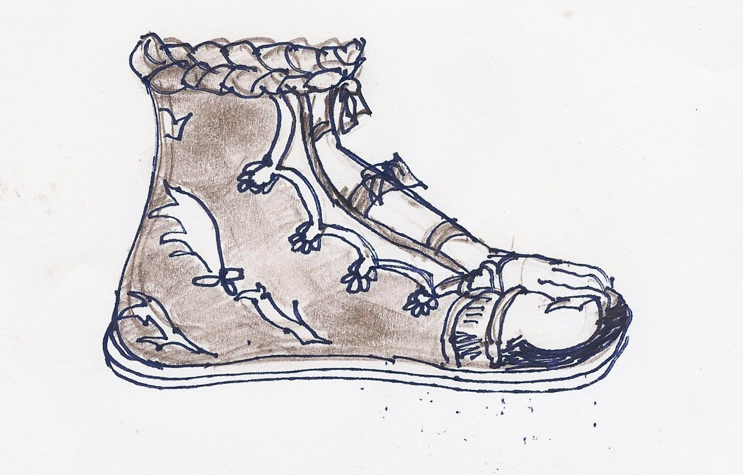 History Of Sandals: Shoe Styles Of Ancient Greece: Boots