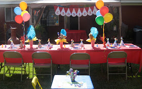 Kami Buchanan Custom Designs Circus Party