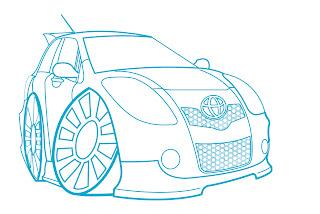440 Gambar Mobil Yaris Kartun Terbaik