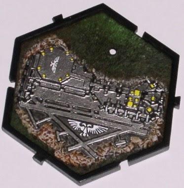 Warpstone Flux Planetary Empires Spaceport Tile
