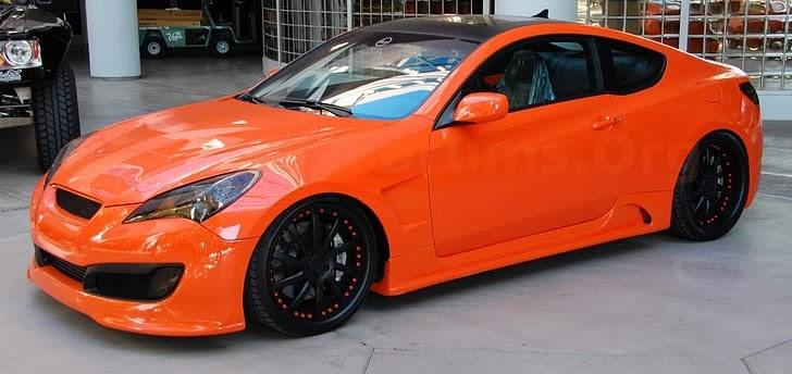 Car Modification Super Clean Hyundai Genesis Coupe