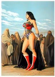 Sexy women in burkas