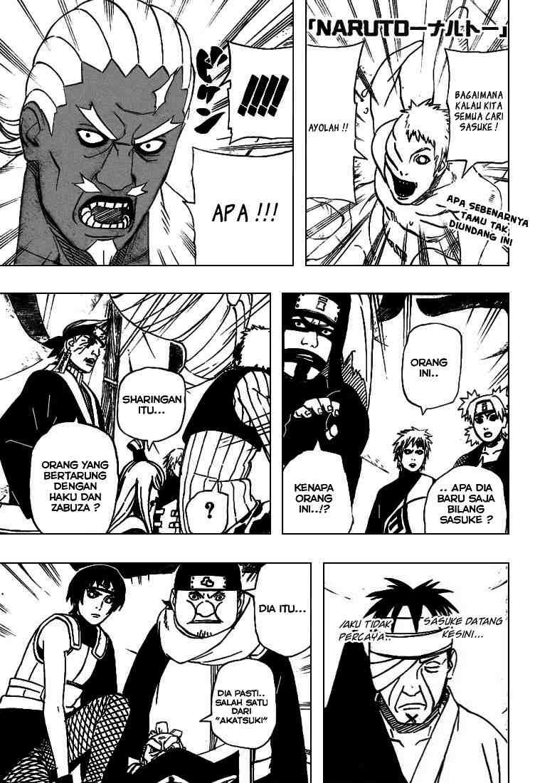 01 Naruto 460   Sasuke Terkepung