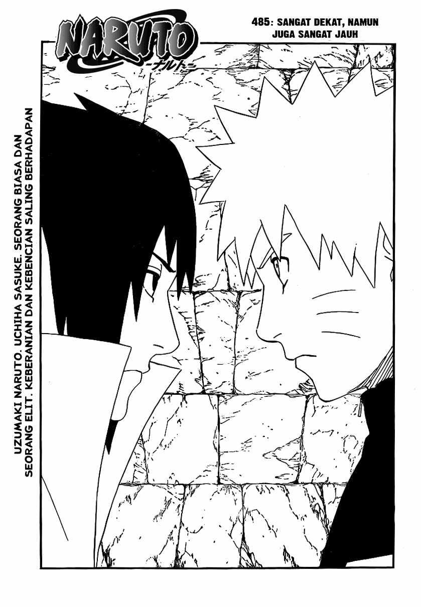 01 Naruto 485   Sangat Dekat, Namun Sangat Jauh