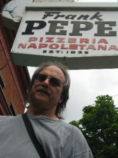 albert grande at pepe's from pizzatherapy.com