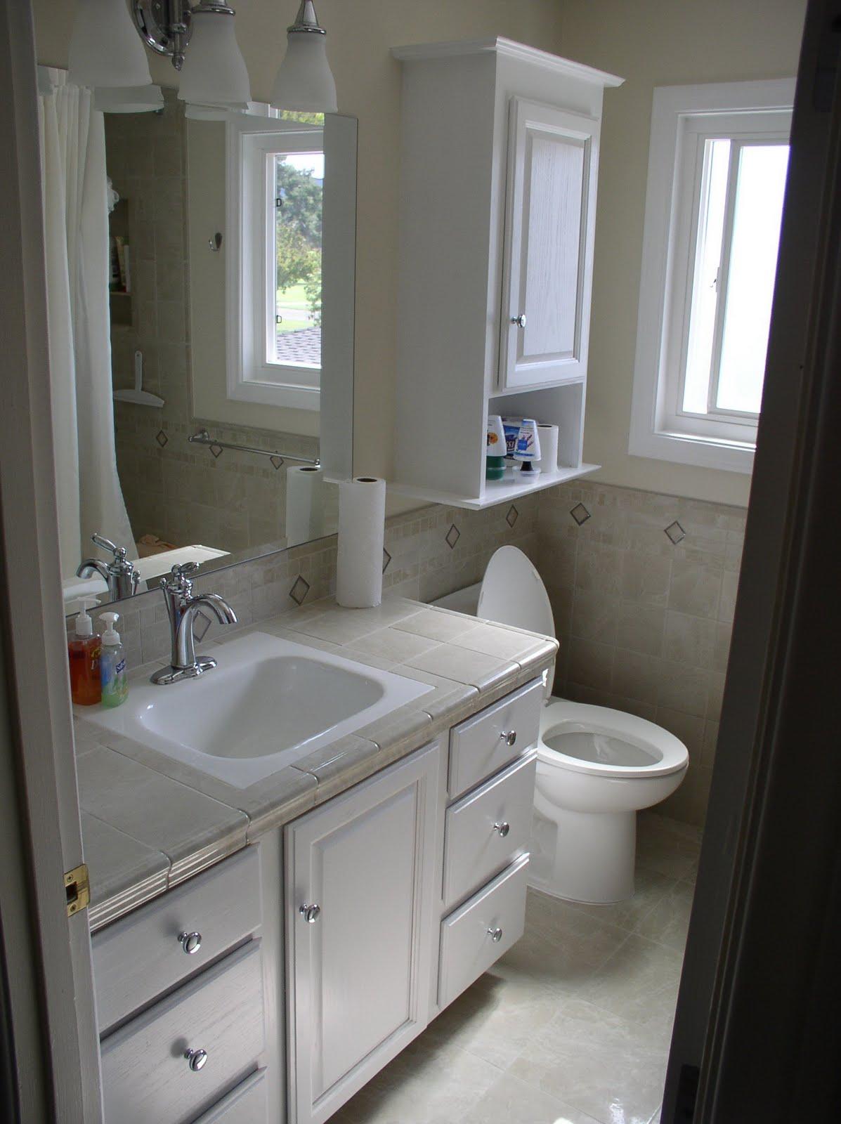 Chrome Bathroom Cabinet