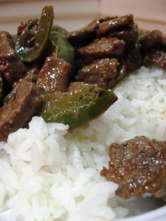 5 ingredient Pepper Steak