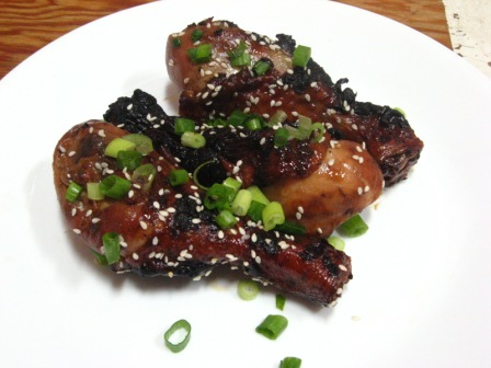 Sweet and a little spicy- Honey Glazed Chinese Chicken
