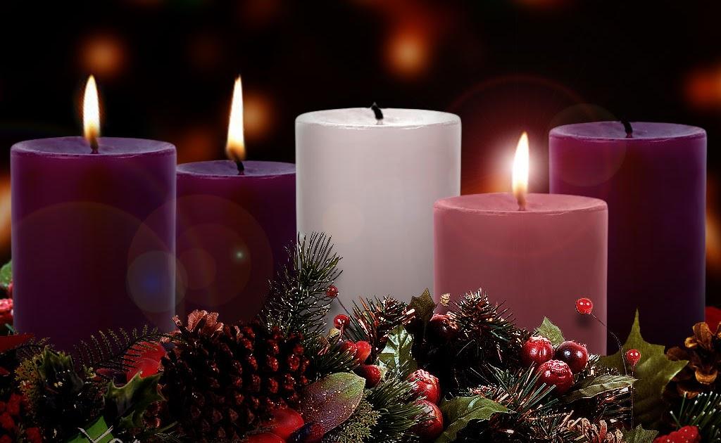 Rev AnnMarie Kneebone: Advent Joy One Advent Candle