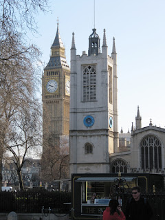 St. Margarets Churc y Big Ben, Londres