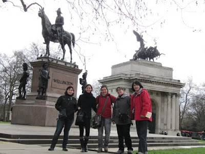 En el Arco de Wellington, Londres