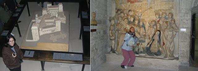 Palacio de los Papas en Avignon, Francia