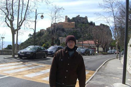 En Eze, Francia