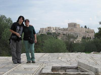 Acropolis desde la colina Filopapo