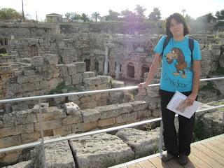 Ancient Corinto (fuente Pirene)